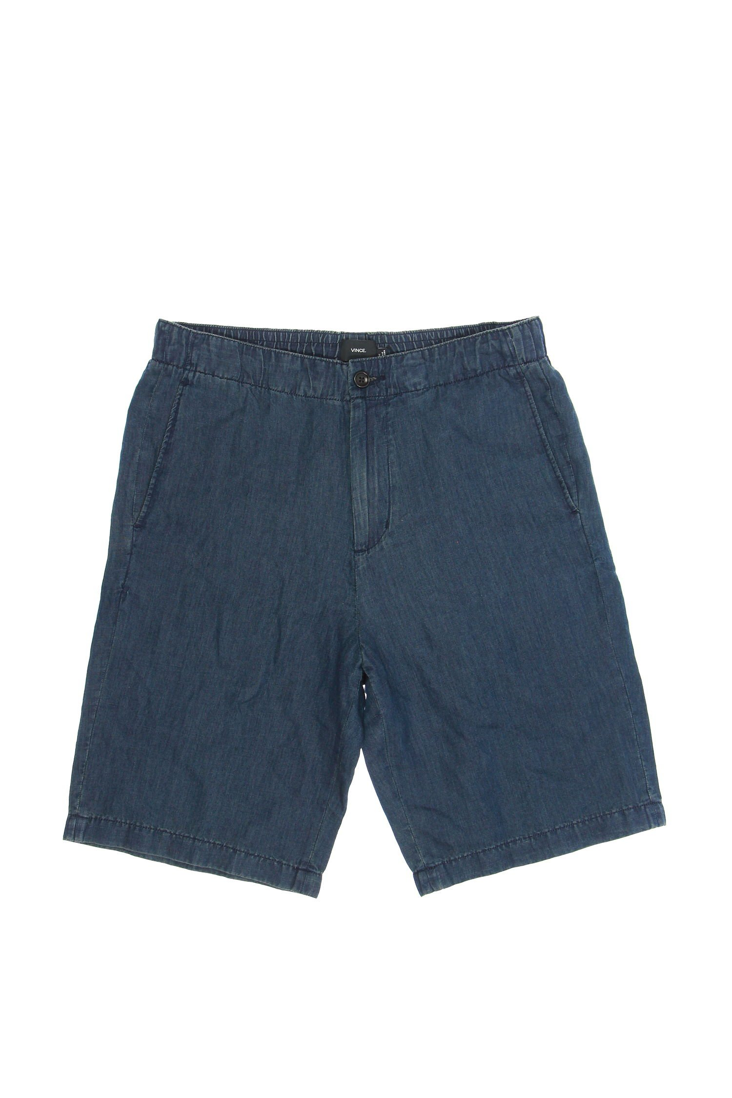 Vince Men's Indigo Shorts, Indigo, 32 by Vince