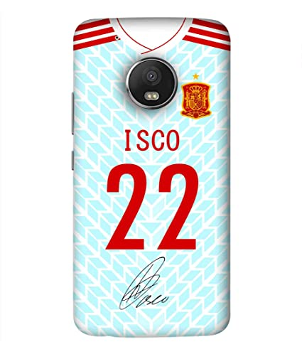 c701c034a Print Vale Spain Away ISCO 22 Jersey 10 2018 FIFA World Cup 2018 2019  Designer