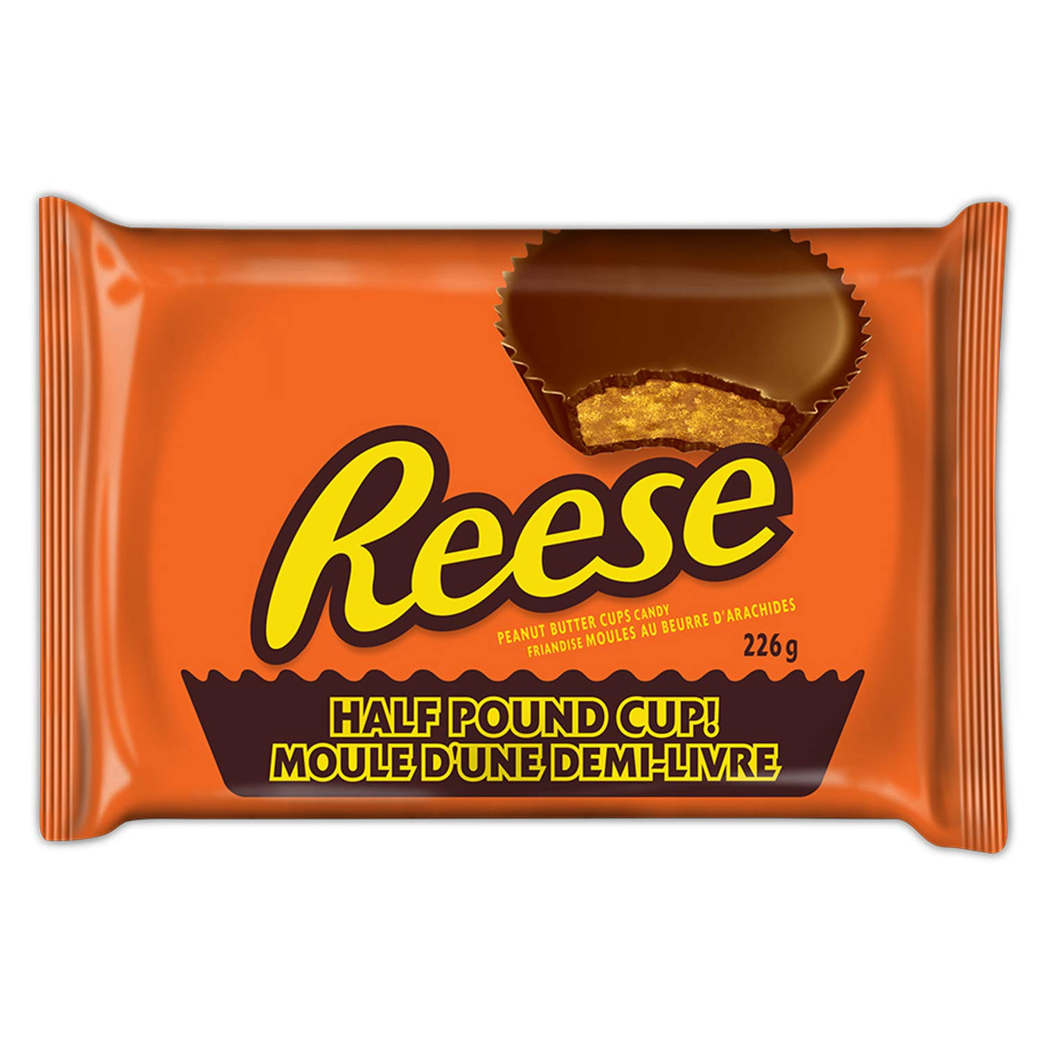 Reese Peanut Butter Cup Candy Half Pound Cup 226 Gram 7 97oz Buy Online In Guernsey At Guernsey Desertcart Com Productid 38969373