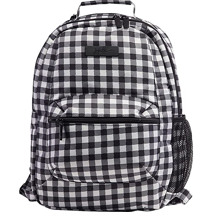 62c2fc3a6f0e Amazon.com   Ju-Ju-Be Onyx Collection Backpack Gingham Style Diaper ...