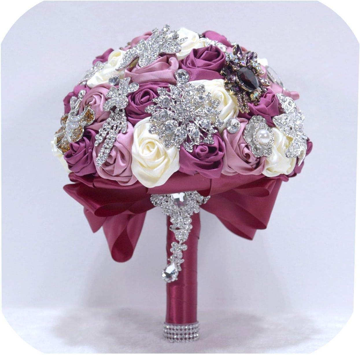 Amazon Com Sheep Shop 14 Colors Wedding Bouquets Flowers Bridal