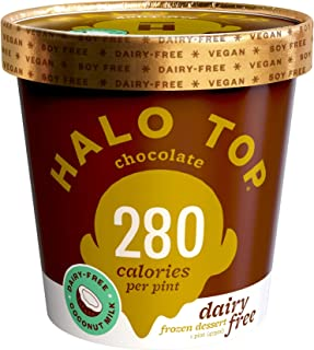 product image for Halo Top, Dairy-Free Chocolate, Pint (4 count)