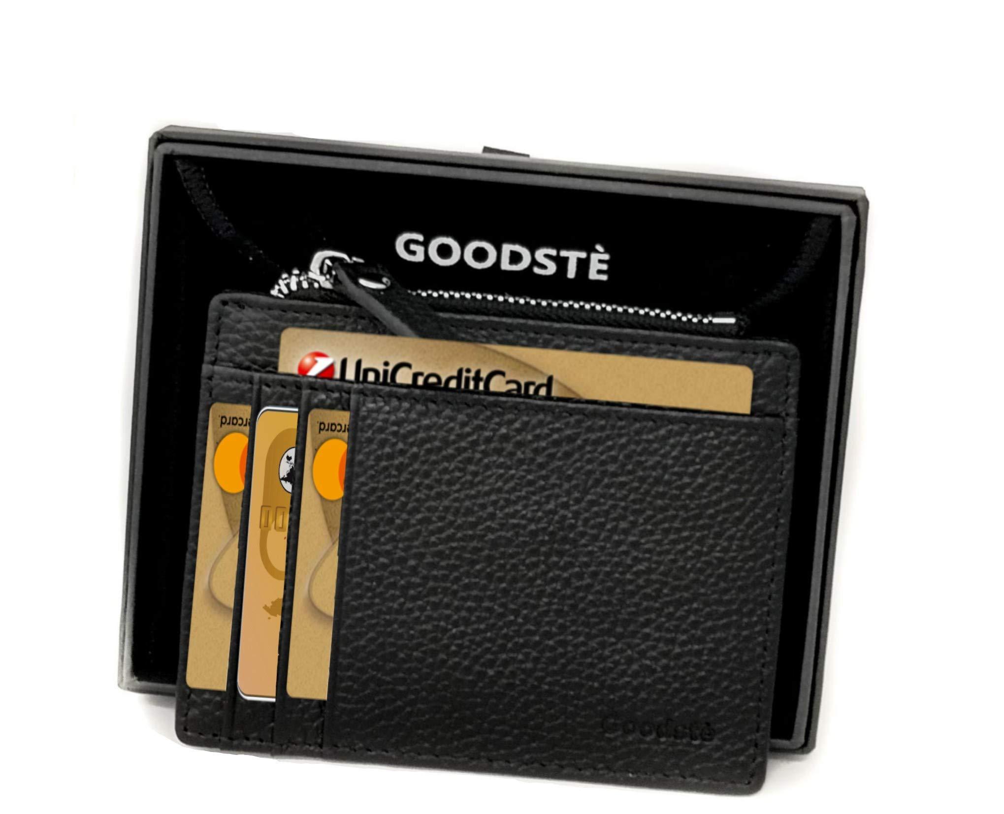 de62627b7e Porta Carte Di Credito Portatessere Donna Blocco NFC RFID Protection Mini Portafoglio  Uomo Secrid Portamonete Con