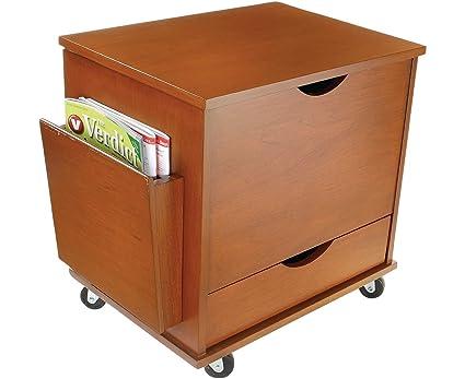 Mini archivador medios de comunicación de almacenamiento estantería torre armario muebles de oficina