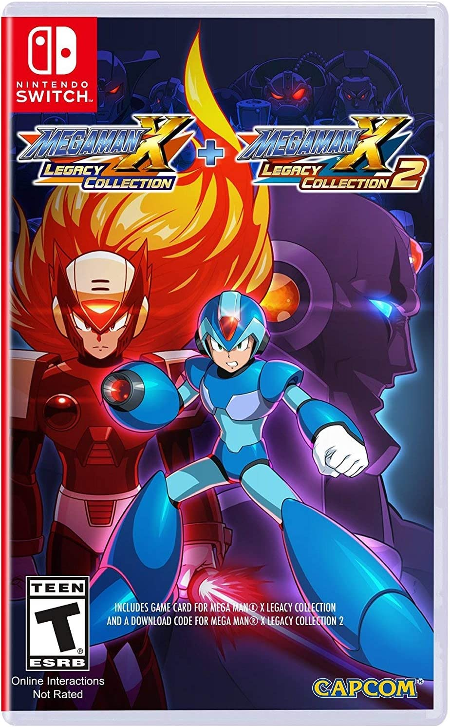 Amazon com: Mega Man X Legacy Collection 1+2 - Nintendo