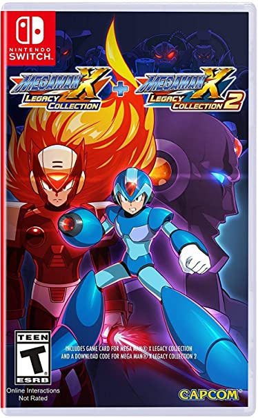 Mega Man X: Legacy Collection 1 + 2 for Nintendo Switch USA: Amazon.es: Capcom U S a Inc: Cine y Series TV