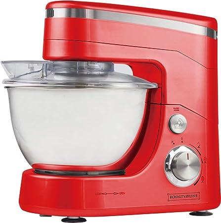 Royalty Line PKM-14000.5 - Máquina para hacer tartas, color rojo: Amazon.es: Hogar