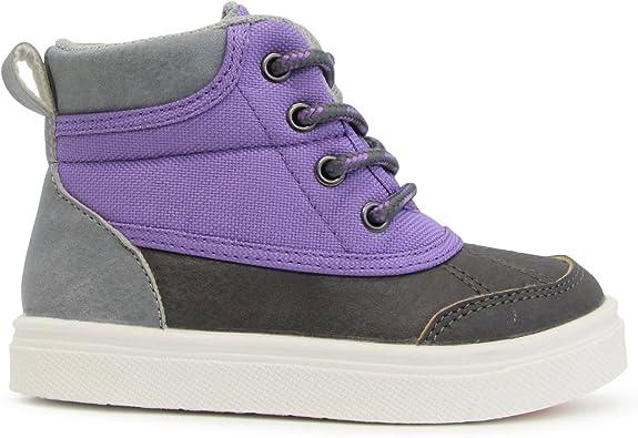 Julian Girls Purple High-Top Shoe