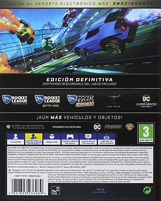 Rocket League Edición Definitiva: Amazon.es: Videojuegos
