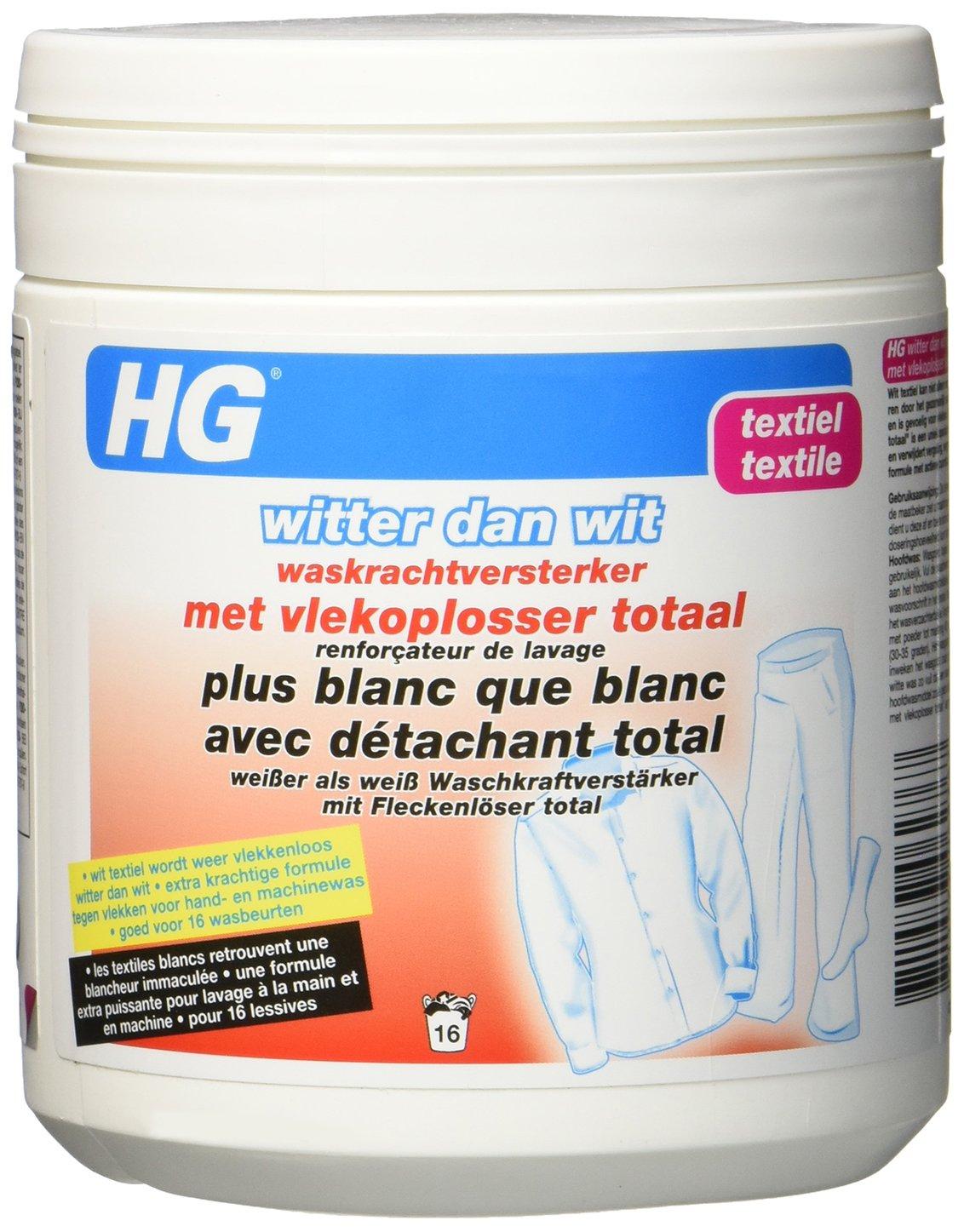 HG Plus Blanc Que Blanc avec Détachant Total - Reforzador de ...