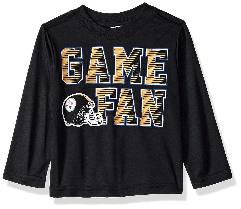 100%本物保証! Gerber ブラック 子供服 NFL NFL ピッツバーグスティーラーズ ボーイズ 2018長袖チームTシャツ ボーイズ ブラック 12ヶ月 B07CD7SCC8, リバティ鑑定倶楽部:3a37d2f7 --- senas.4x4.lt
