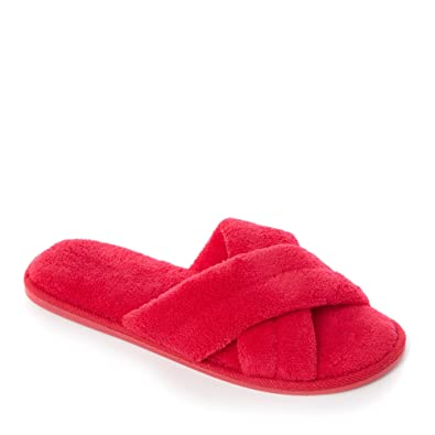 Pink towelling open-toe mule slippers sale limited edition clearance pictures ZrFcaMDA