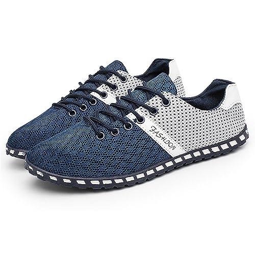 CUSTOME Hombres Zapatos de Agua Malla Plano Traje de ...