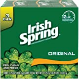 Irish Spring Original Deodorant Soap by Irish Spring for Unisex - 3 x 4 oz Soap, 3 count