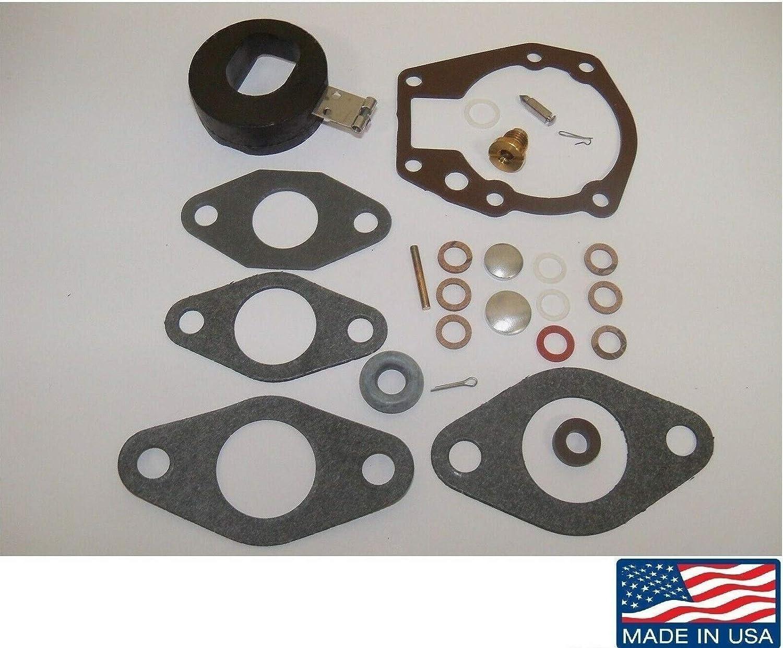 Carburetor Kit /& FLOAT for Johnson Evinrude 1.5 2 3 4 5 5.5 6 HP 439071 18-7043