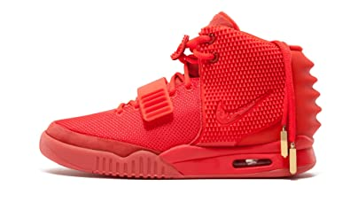 Discount Authentic 508214-660 Mens Nike Air Yeezy 2 SP Shoes Red October