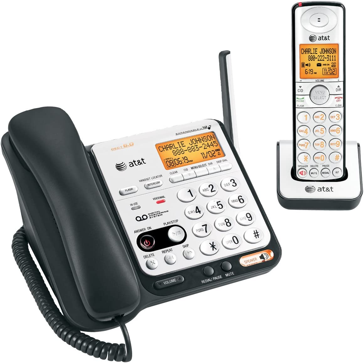 AT/&T CL84109  DECT 6.0 1.9GHz Expansion Cordless handset
