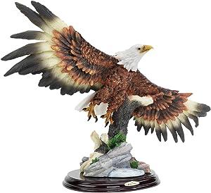 Design Toscano 12.5 in. Wingspan Bald Eagle Statue