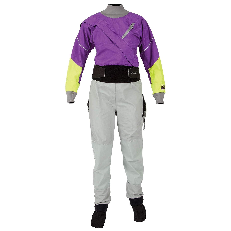 KokatatレディースGore - Tex Meridian Drysuit B078YG8NYR パープル XLS XLS|パープル