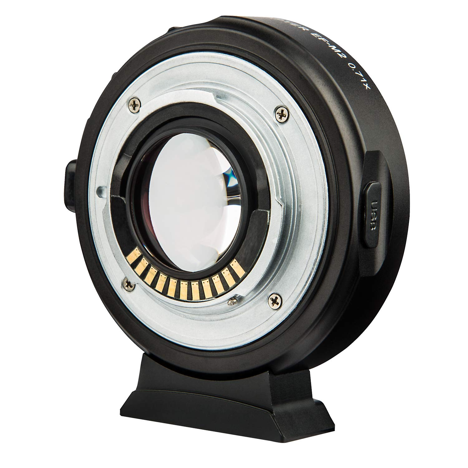 EF-M Mount Mirrorless Camera M1 M2 M3 M5 M6 M10 M50 M100 Viltrox EF-EOS M Electronic AF Auto Focus Lens Mount Adapter for Canon EF//EF-S Lens to Canon EOS-M