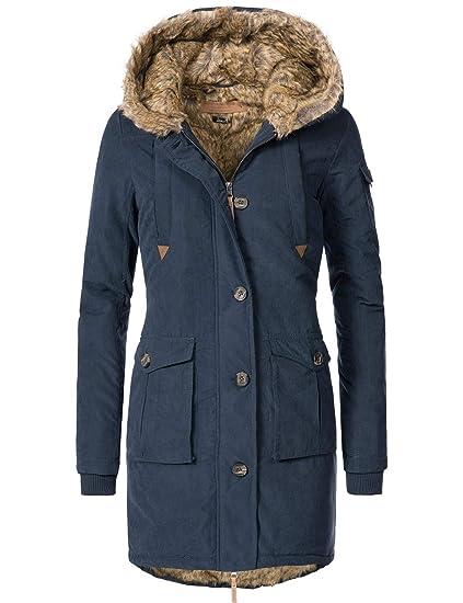Eight2Nine Damen Winter Mantel Winterparka 44410A1EN 6 Farben S XL