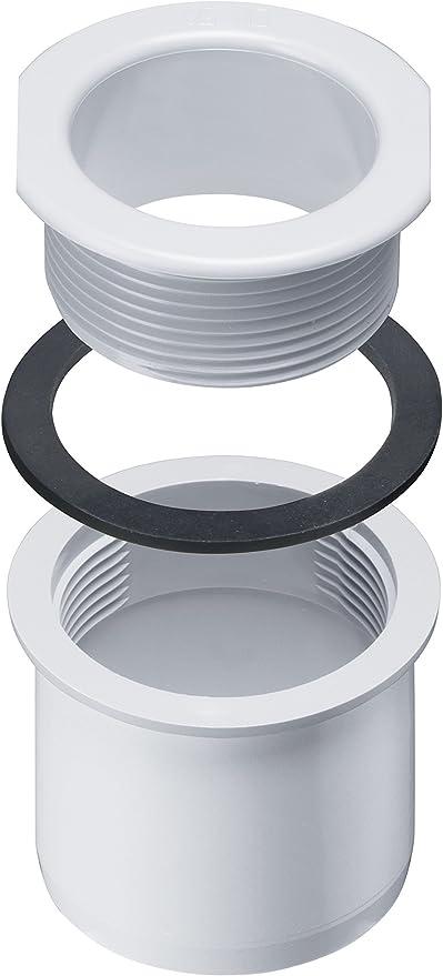 INEFA Rohrschelle DN 75 Dachrinne Kunststoff mit Clip Regenrinne