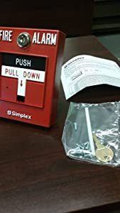 Simplex 4099-9006 Double Action, Push Pull Down Station