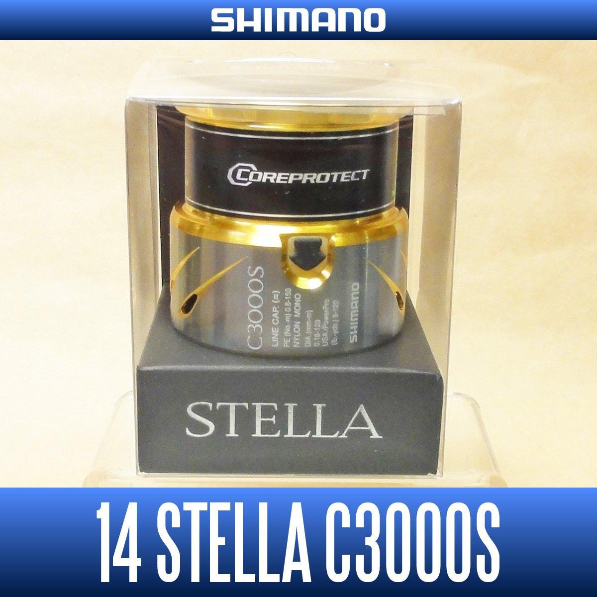 【シマノ純正】 14ステラ C3000S番クラス スペアスプール   B0185J1RGI
