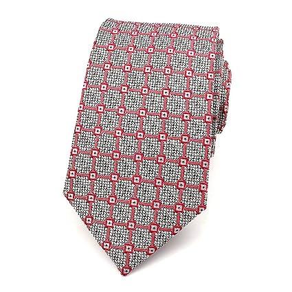 Amazon.com : WYJW Hombres, corbata, 100% Traje de seda ...