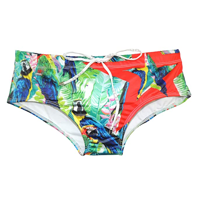 JOR Bañador Slip-Brief Manaos para Hombres, Multicolor, Ta. XG