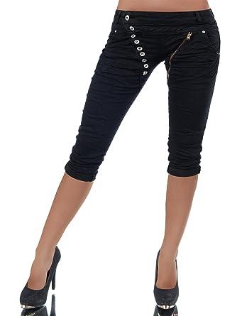 Diva-Jeans - Pantalón Corto - Capri - Básico - para Mujer
