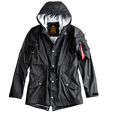 hot sale online 3413e ff3b4 Alpha Industries Herren Regenmantel