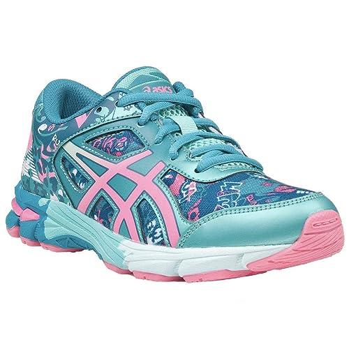 Asics C603N 4920 - Zapatillas de Running de Sintético para niña Verde Verde, Color Verde, Talla 35.5 EU: Amazon.es: Zapatos y complementos