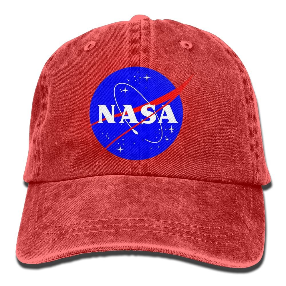 Red Logo Casquette Baseball NASA