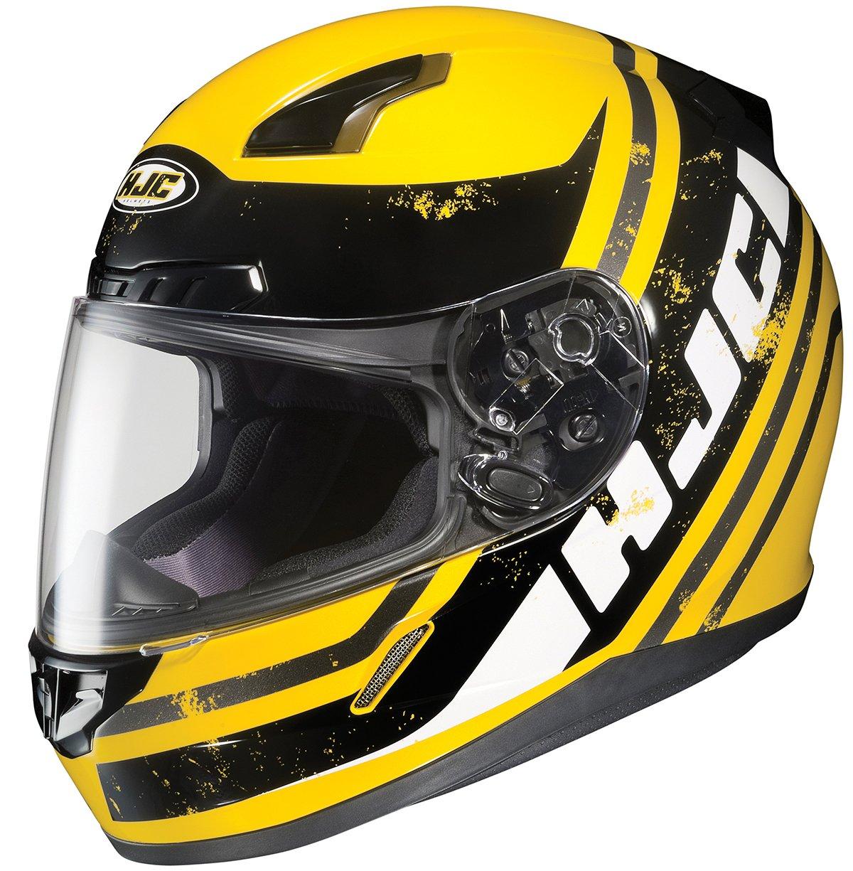 HJC 826-914 CL-17 Victory Full-Face Motorcycle Helmet MC-1, Large