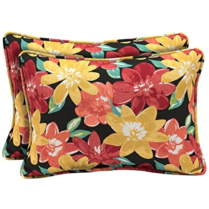 Amazon Com Arden Selections Ruby Abella Floral Oversized Lumbar