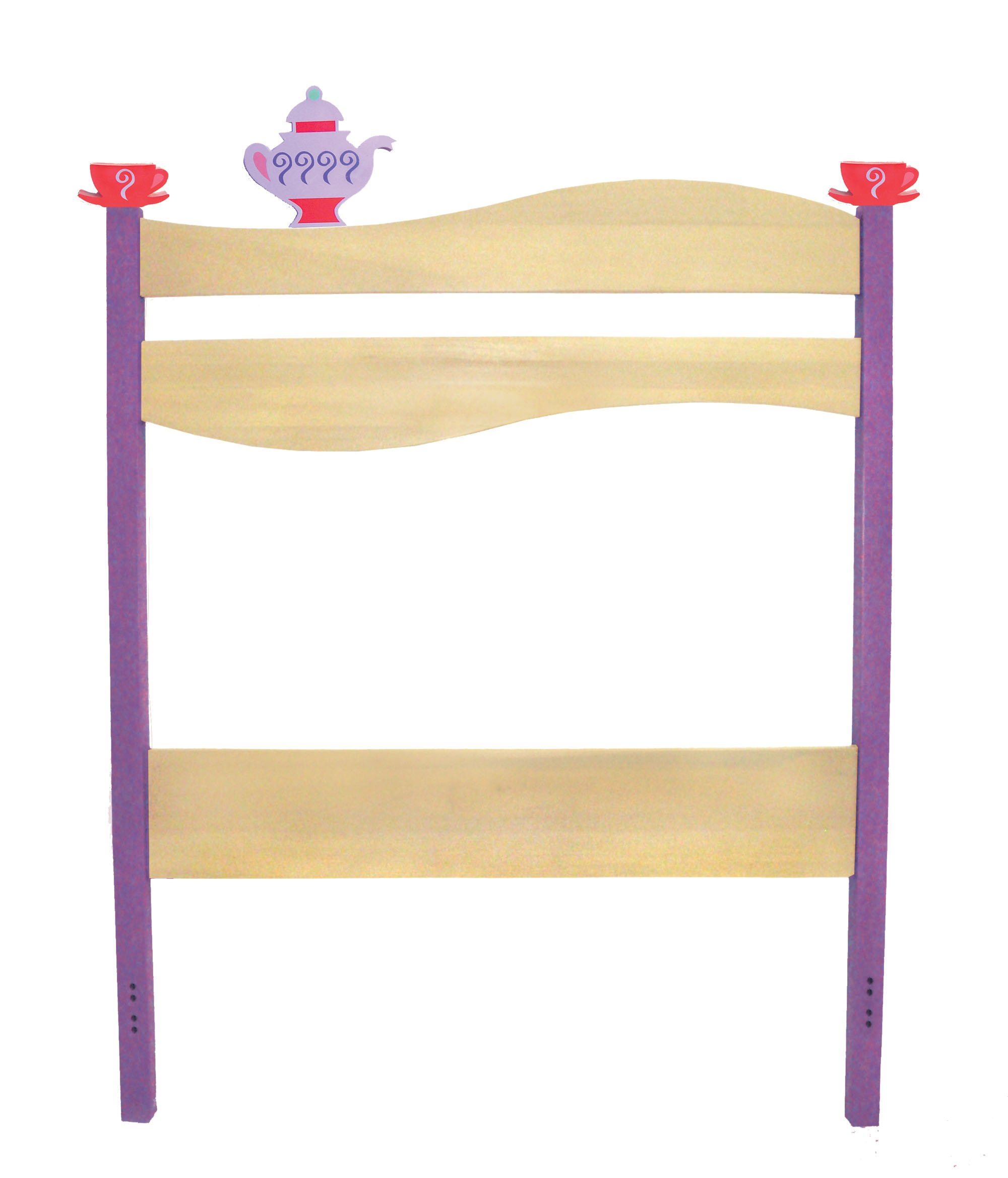 Room Magic Twin Headboard, Girl Teaset
