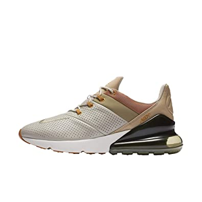 pretty nice 43a78 f7a9a NIKE AIR MAX 270 Premium Mens Running Sneakers AO8283-200-size 10