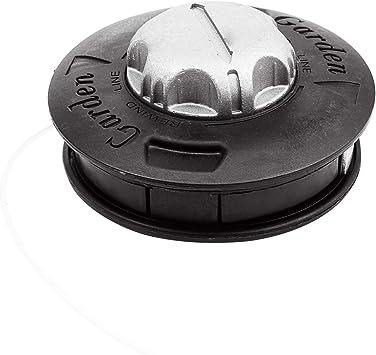 Cabezal de aluminio para desbrozadora de césped, doble cabezal de hilo, hilo de nailon para desbrozadora.: Amazon.es: Bricolaje y herramientas