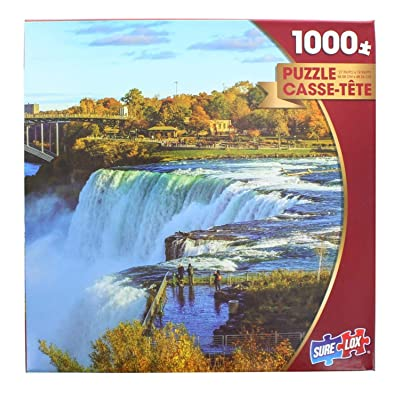 Niagara Falls in Autumn by Elena Suvorova 1000 Piece Puzzle: Toys & Games