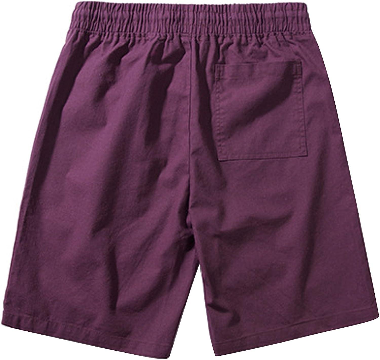 Katesid Mens Beach Casual Shorts Workout Fashion Athletic Shorts Summer Loose Shorts