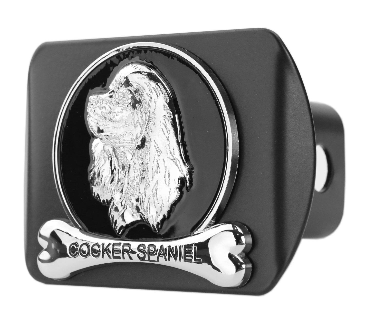 Dog Chrome 3D Badge Emblem metal Trailer Hitch Cover (Fits 2' Receiver, Labrador Retriever) eVerHITCH