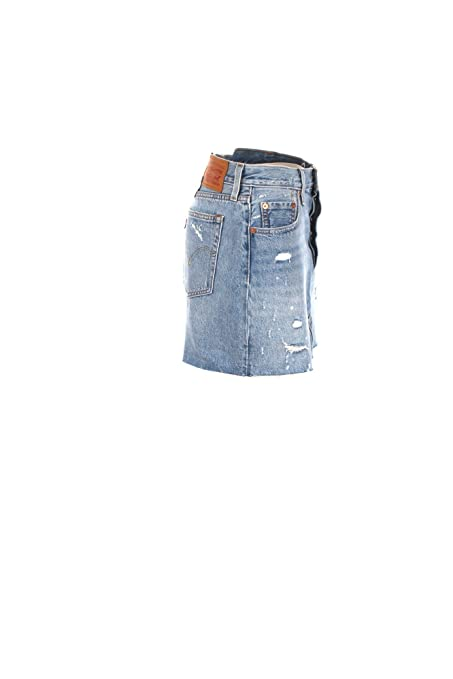 LEVIS 34963 DECONSTRUCTED SKIRT FALDAS Mujer DENIM LIGHT BLUE 26 ...