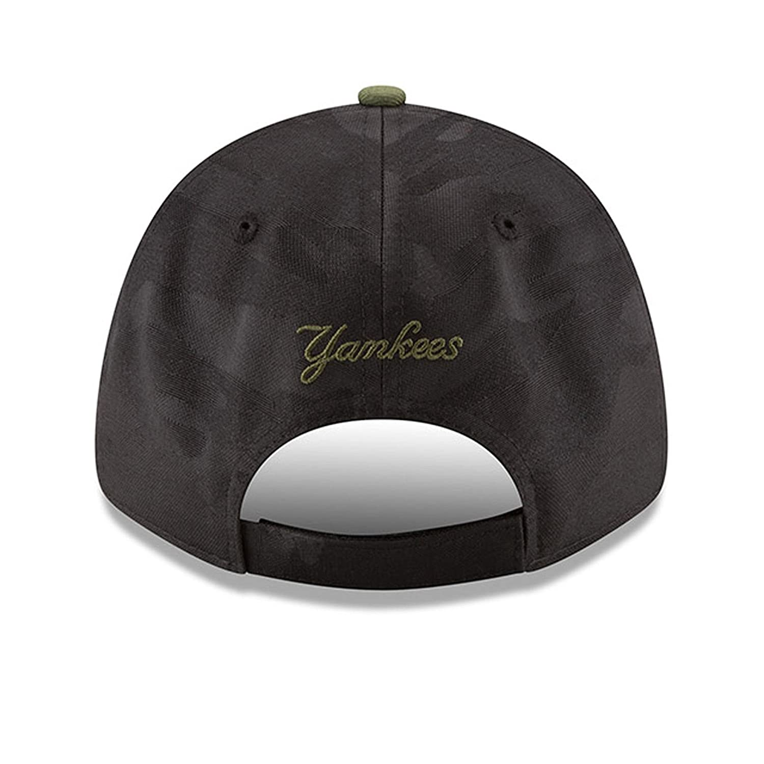 Amazon.com  New Era Youth Authentic New York Yankees Memorial Day 9Forty  Adjustable Hat - Black Rifle Green  Clothing c5527eaeff09