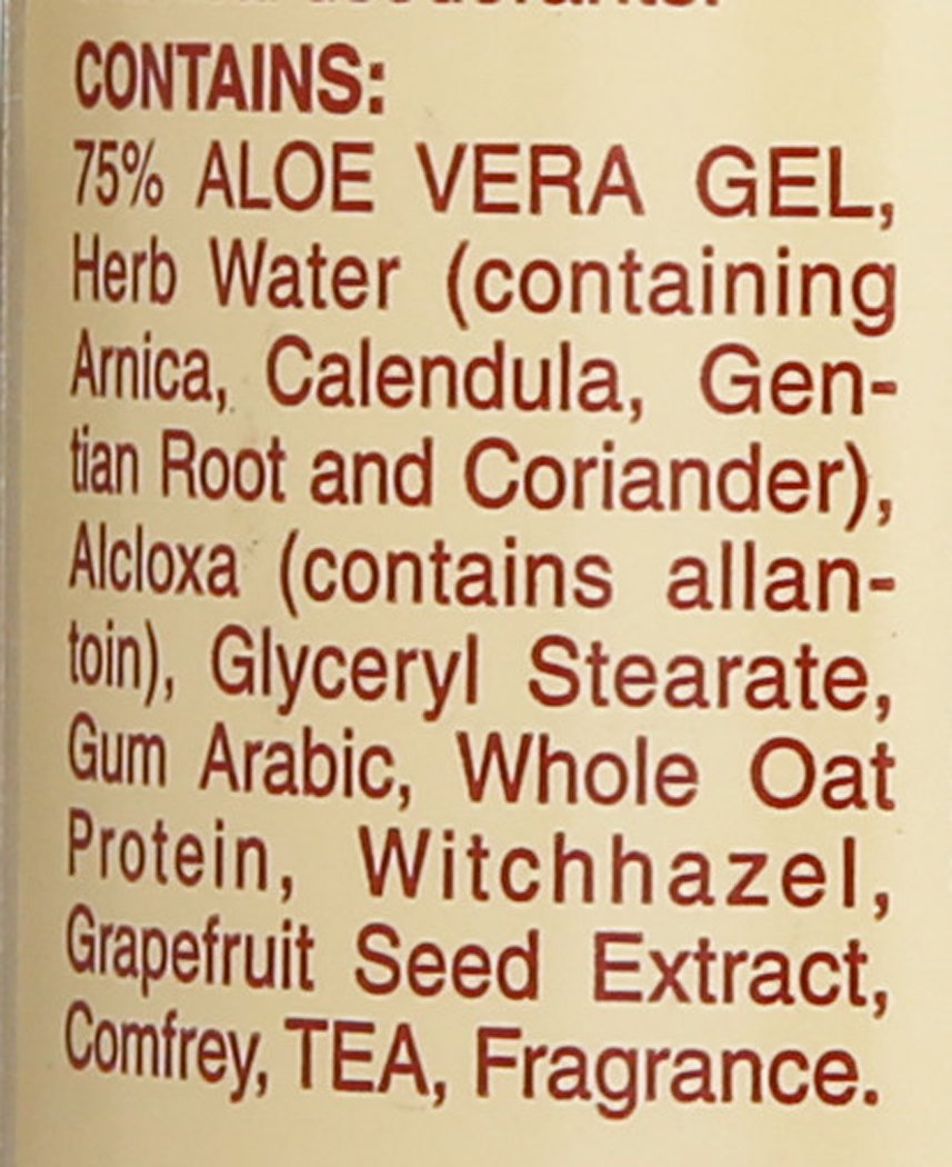 Alvera All Natural Roll-on Deodorant Aloe and Almonds - 3 Oz, 3 Fluid Ounce by Alvera (Image #2)