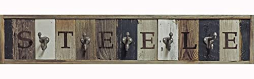 Personalized Wooden Coat Rack