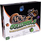 Ninja Squirrels Family Board Game – Improve Focus and Attention with Visual Color Matching Cards and Colorful Plastic Acorns, Fun Toy for All Ages, Kids and Adults 7 Years and Up