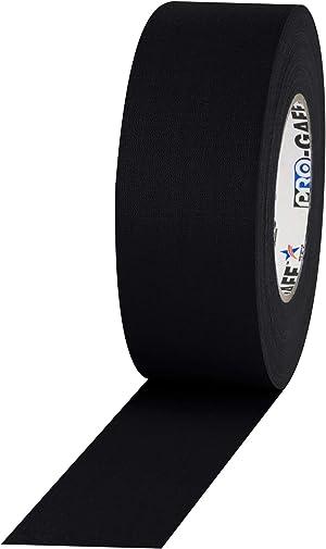 Pro Gaffer Gaffers Tape, 2 in x 55 yd, Black