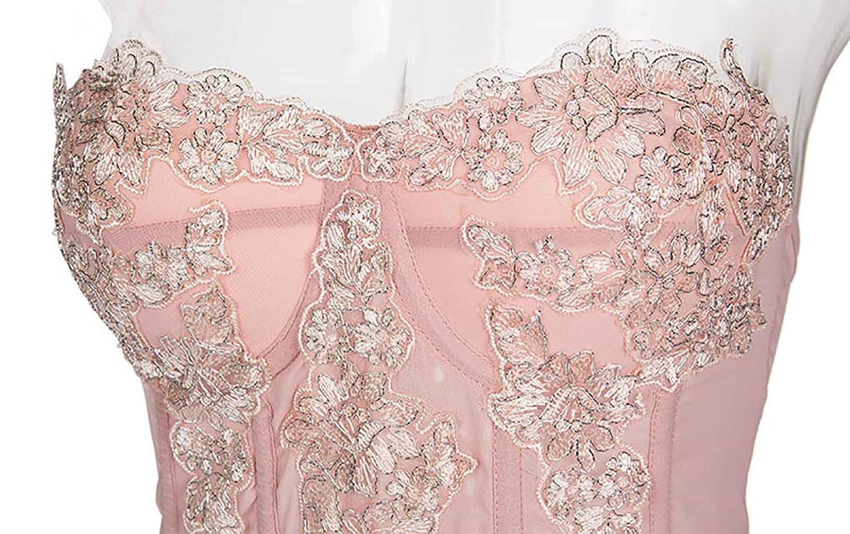 Without G-String Alivila.Y Fashion Womens Lace Bridal Corset Torsolette 2269A