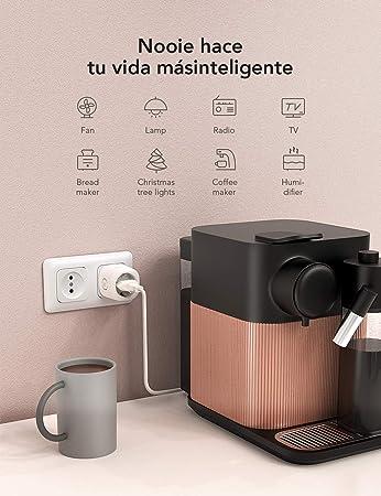 Nooie Enchufe Inteligente Smart Plug Compatible con Amazon Alexa, Echo, Google Home, Enchufes Inteligentes Temporizador Interruptor Wifi, Domotica para el Hogar(2 Packs): Amazon.es: Bricolaje y herramientas